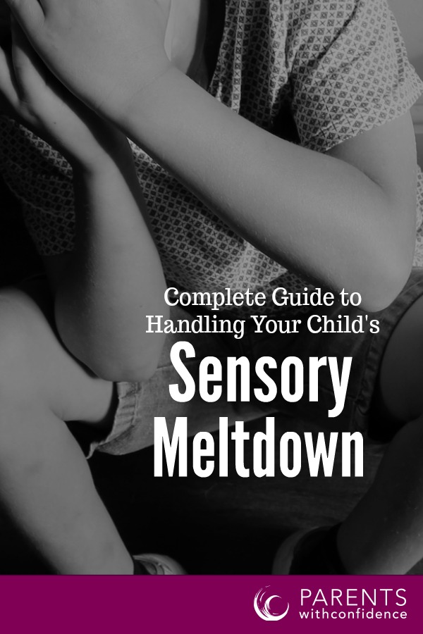 help a child with sensory meltdowns