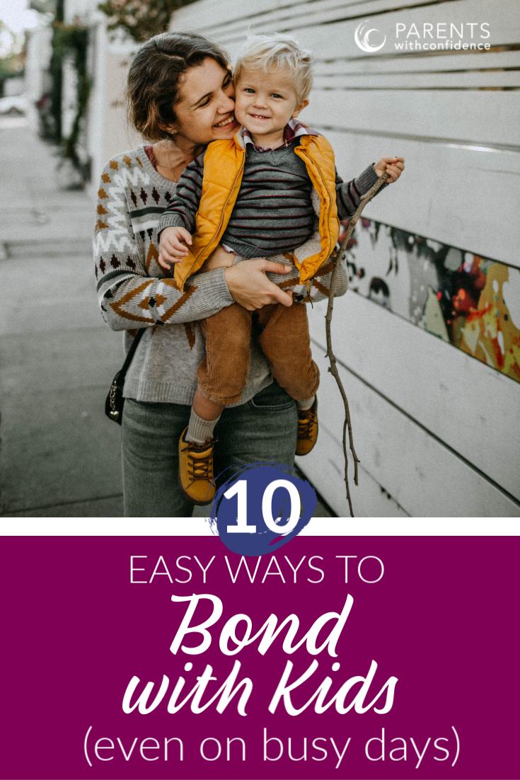 bonding with kids ideas