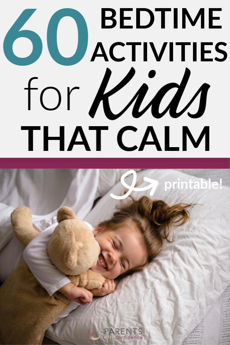 Kids bedtime activities