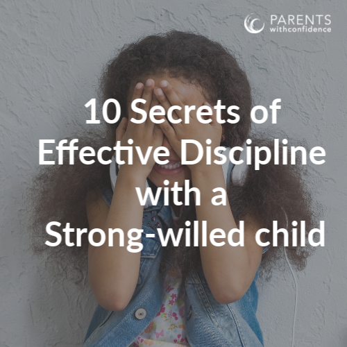 how to discipline strong willed child