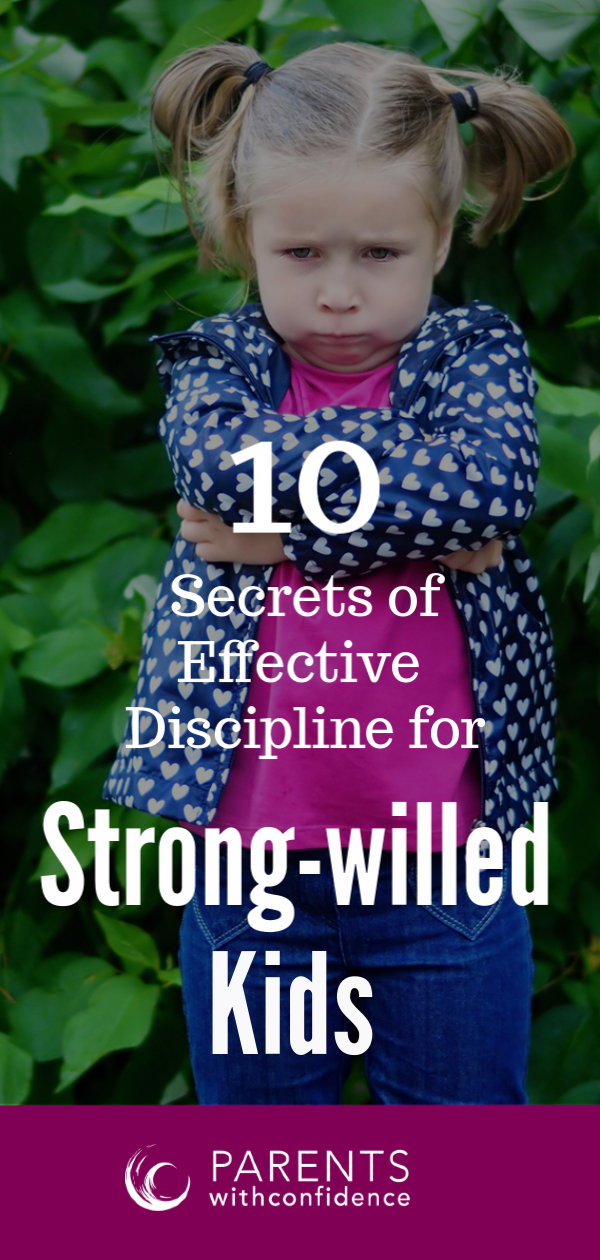 discipline with the strong-willed child