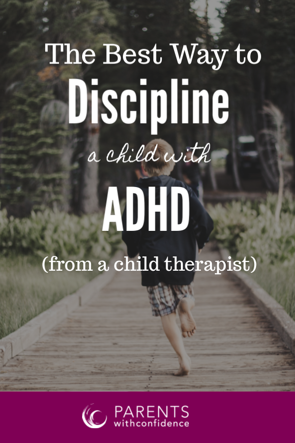 How to discipline ADHD