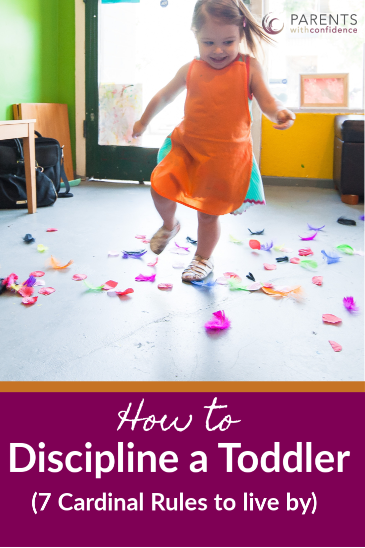 how to discipline a toddler