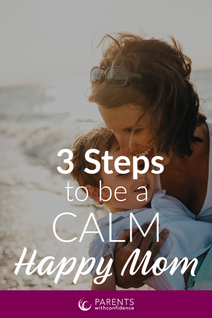 stay calm with kids