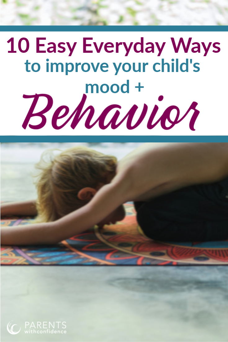 improve a child's behavior