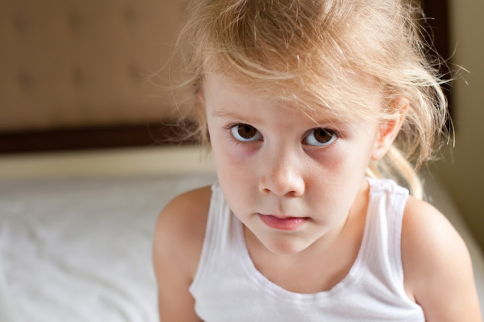 disciplining a child