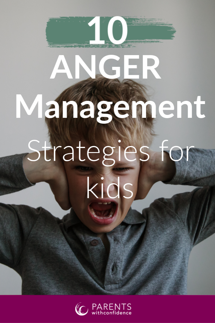 help a child deal with anger