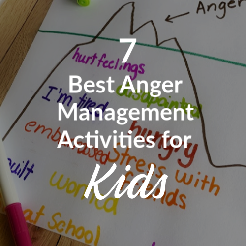 anger management activities for kids