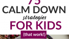 Help your child calm down
