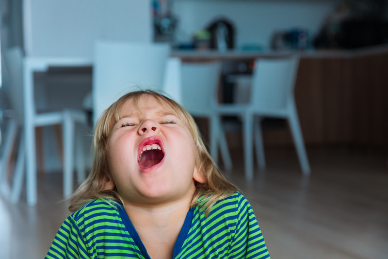 deal with child's anger outburts