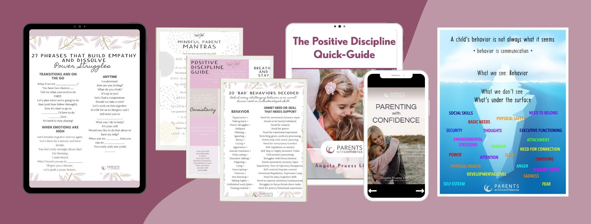 Positive Discipline Set for Parents