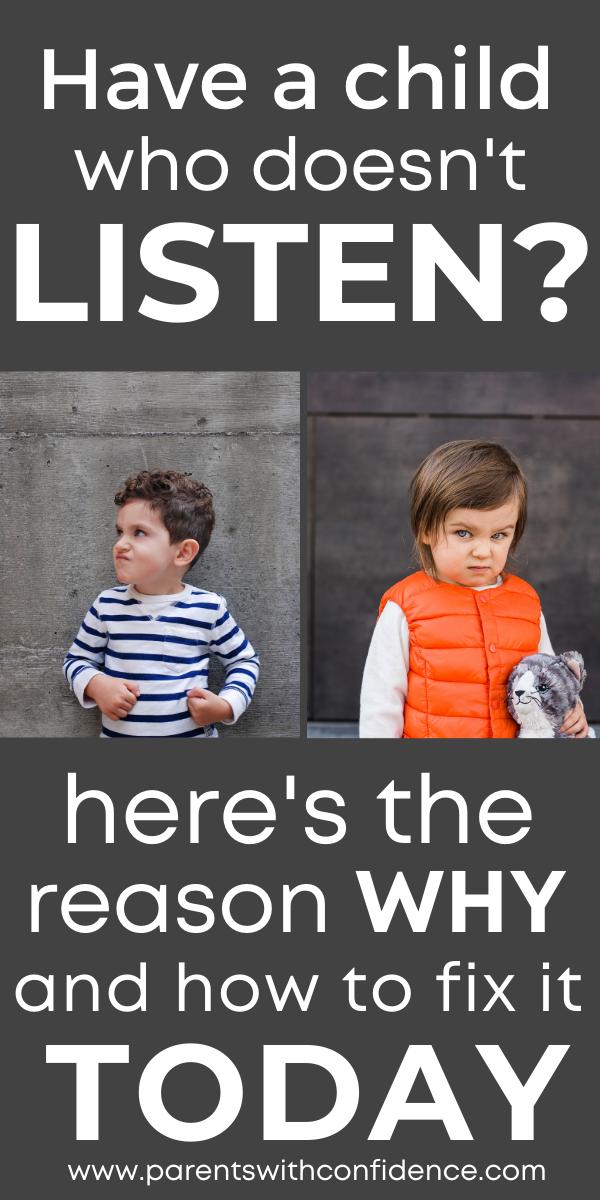 Child Isn't Listening