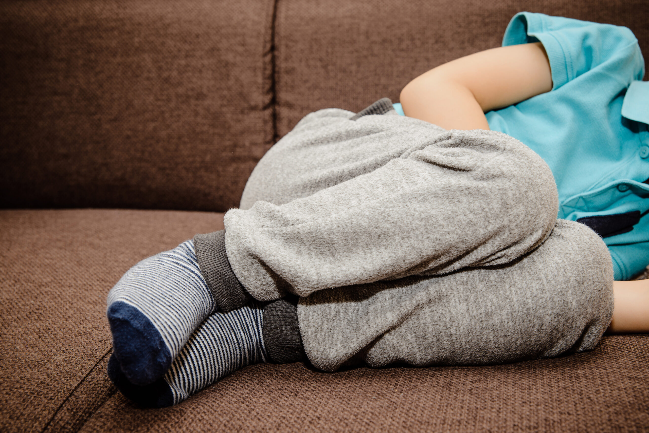 child has stomach ache from anxiety